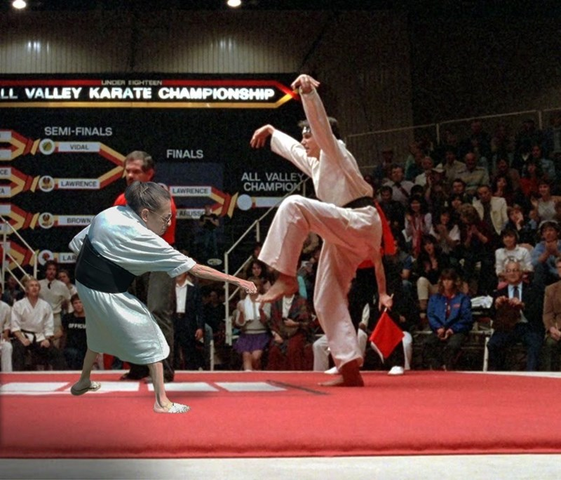 Sports - UNDER EIGHTEEN LL VALLEY KARATE CHAMPIONSHIP SEMI-FINALS VIDAL FINALS CE ALL VALLEY CHAMPION LAWRENCE LAWRENCE ARUSSO BROWN LAR