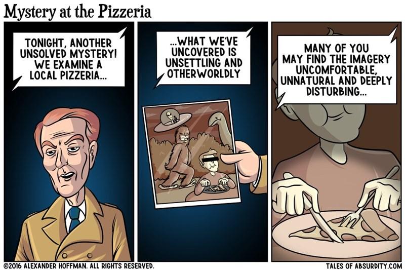 web comics pizza fork Who Eats Pizza Like That?