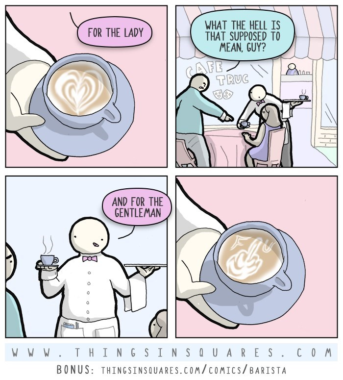 web comics coffee rude Such Adorable Latte Art