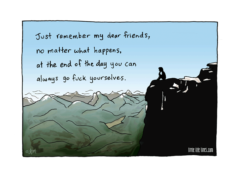 web comics inspirational rude So Inspiring