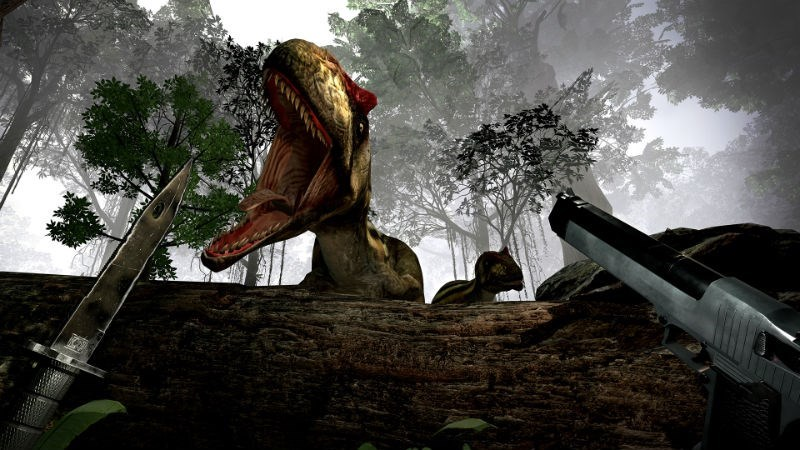 trending news google virtual reality store android dinosaur video game