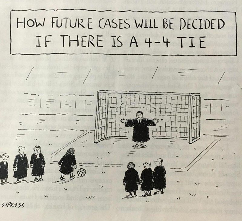 Supreme Court soccer politics web comics