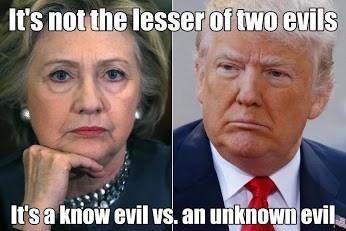 donald trump Hillary Clinton politics - 8971384064