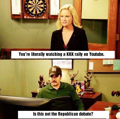 parks and recreation rnc politics - 8971384576