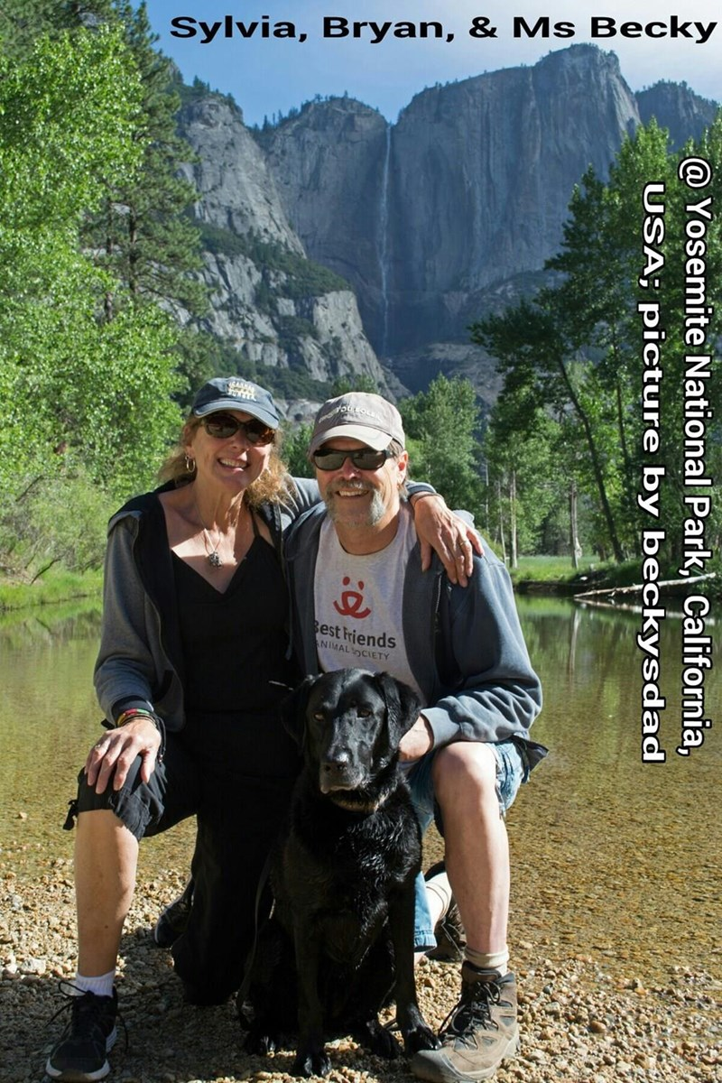 When beckysdad played tour guide (Yosemite National Park)