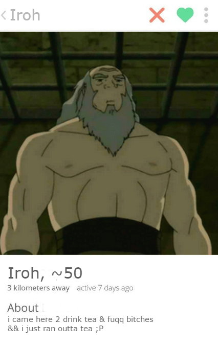 tinder legend of korra korra - 8971606016