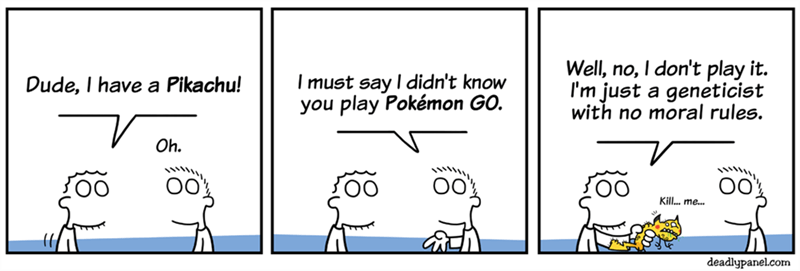 web comics pokemon ethics Wow! Your Pikachu Can Speak English?