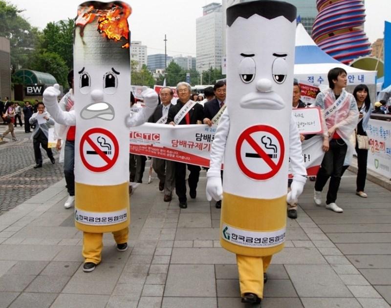 Mascot - 안 내 적수 BW 24 담배트 담배규제기 ICTC 9한국금연운동협의 RONEAN AS ON :: L