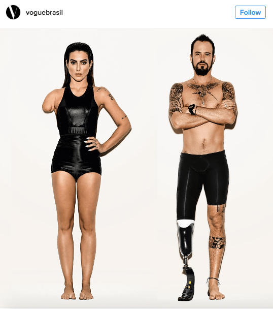 trending news instagram vogue photoshop fail paralympians models