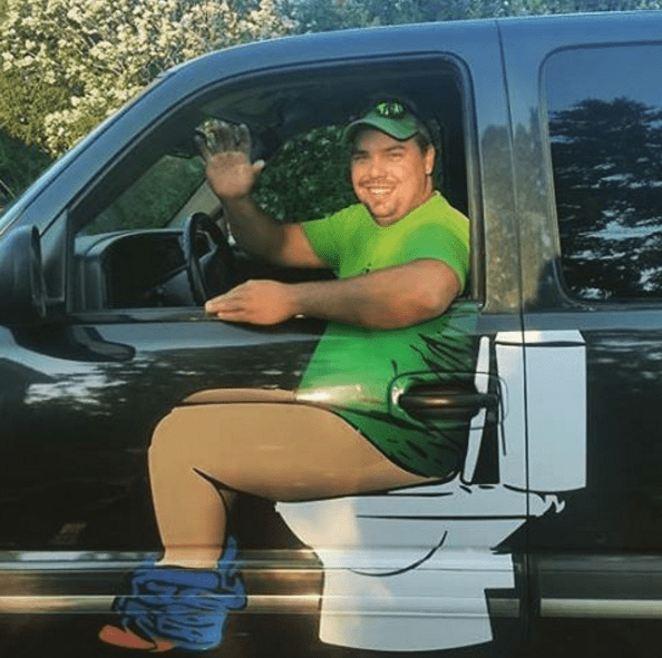 image signs trolling He's Not Just a Plumber, He's Also a Customer