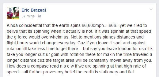 flat earth,failbook,facebook