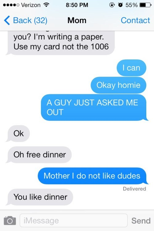 dinner texting mom dating - 8972004864