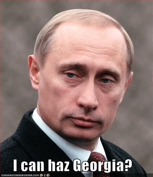 Georgia russia Vladimir Putin - 897208576