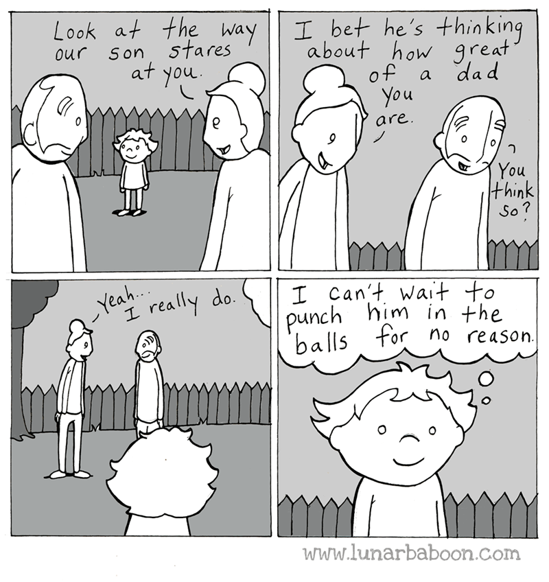 web comics parenting kids What a Sweet Kid