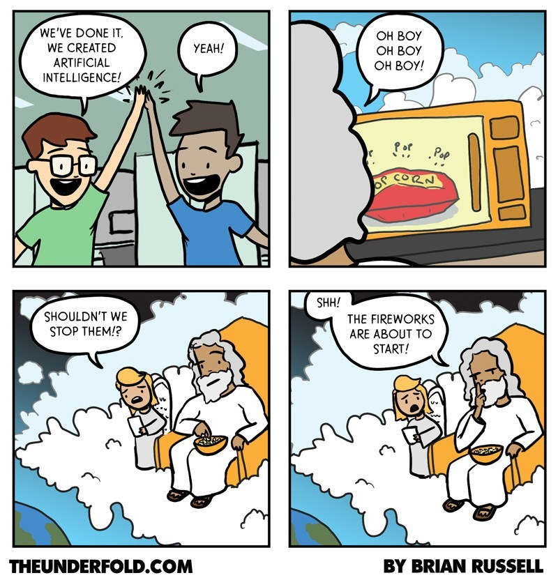 web comics artificial intelligence disaster Here Comes the Good Part