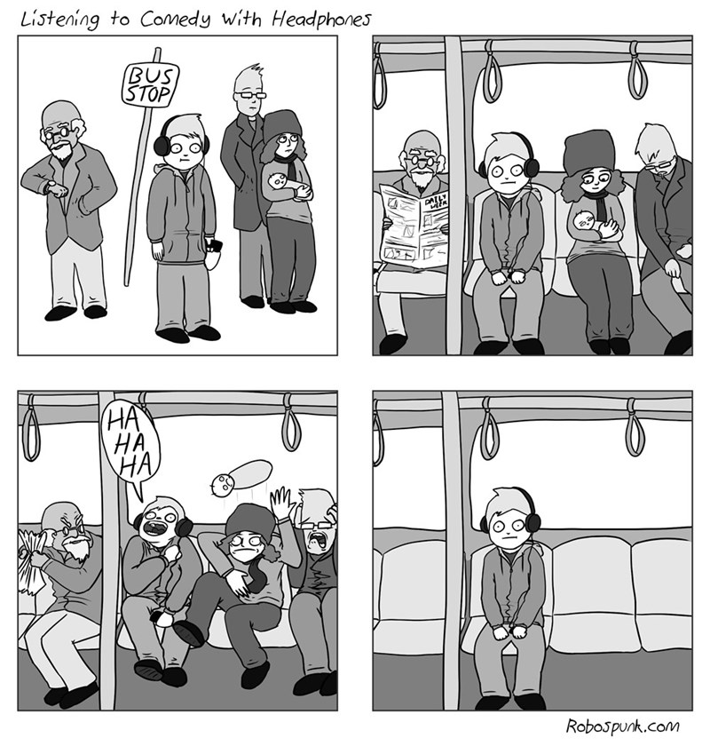 web comics comedy public transportation Try to Take Your Commute Seriously