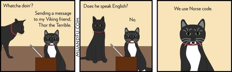 puns Cats web comics - 8972262656