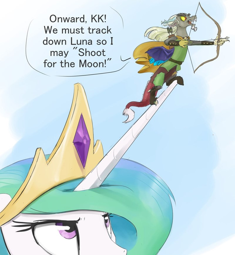princess celestia,discord,dungeons and discords