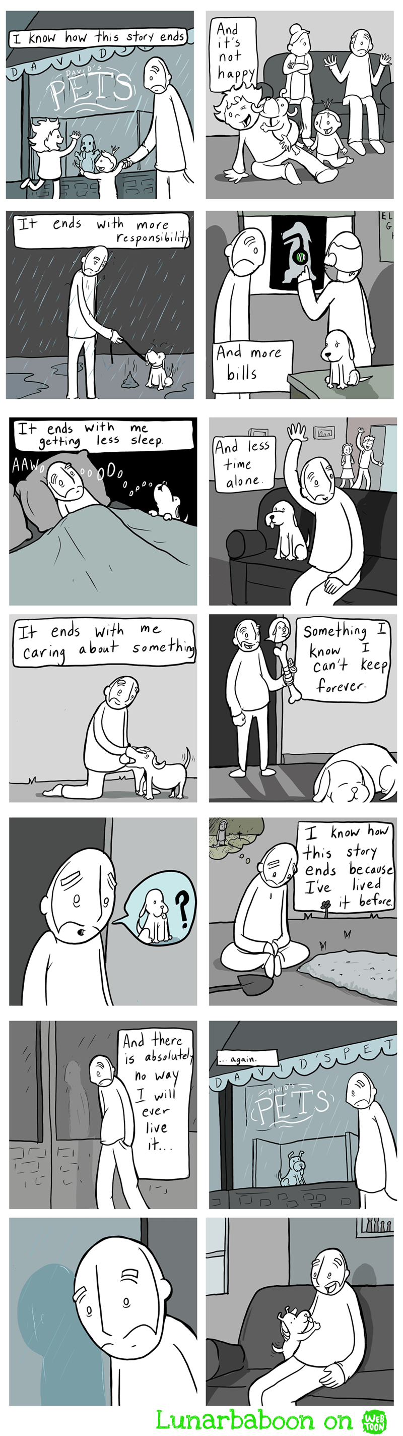 web comics feelings puppy I'm Not Crying, You're Crying!