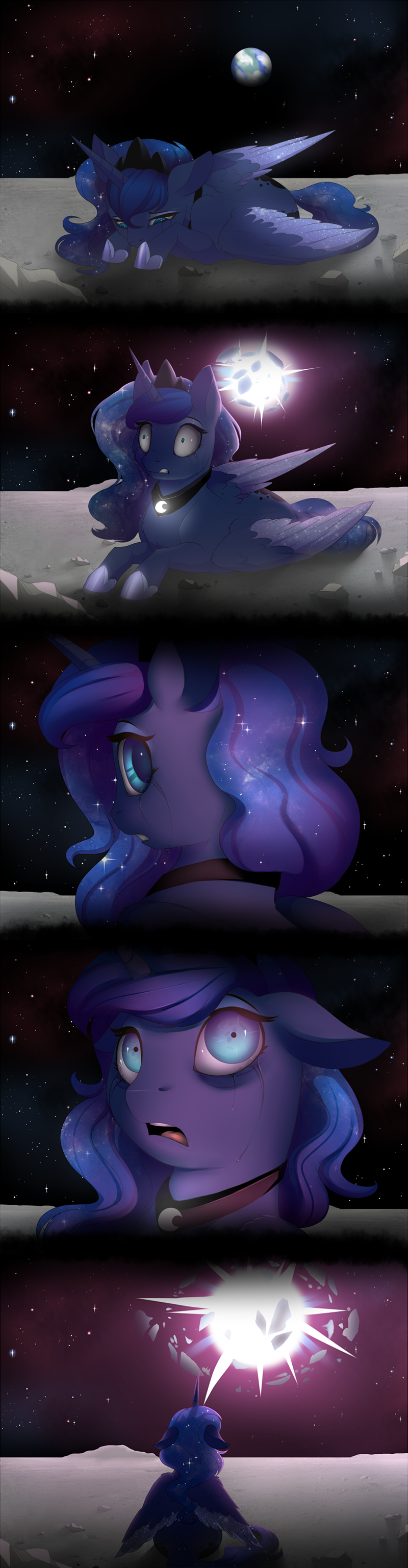 comic princess luna - 8972519680