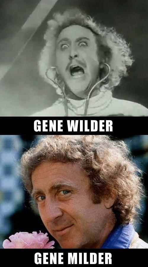 Facial expression - GENE WILDER GENE MILDER