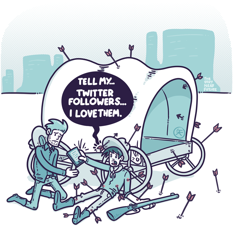 web comics twitter death They Know