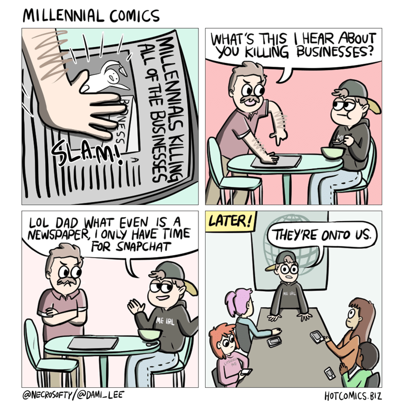 web comics millennial agenda Those Think Pieces? They're True, All of Them