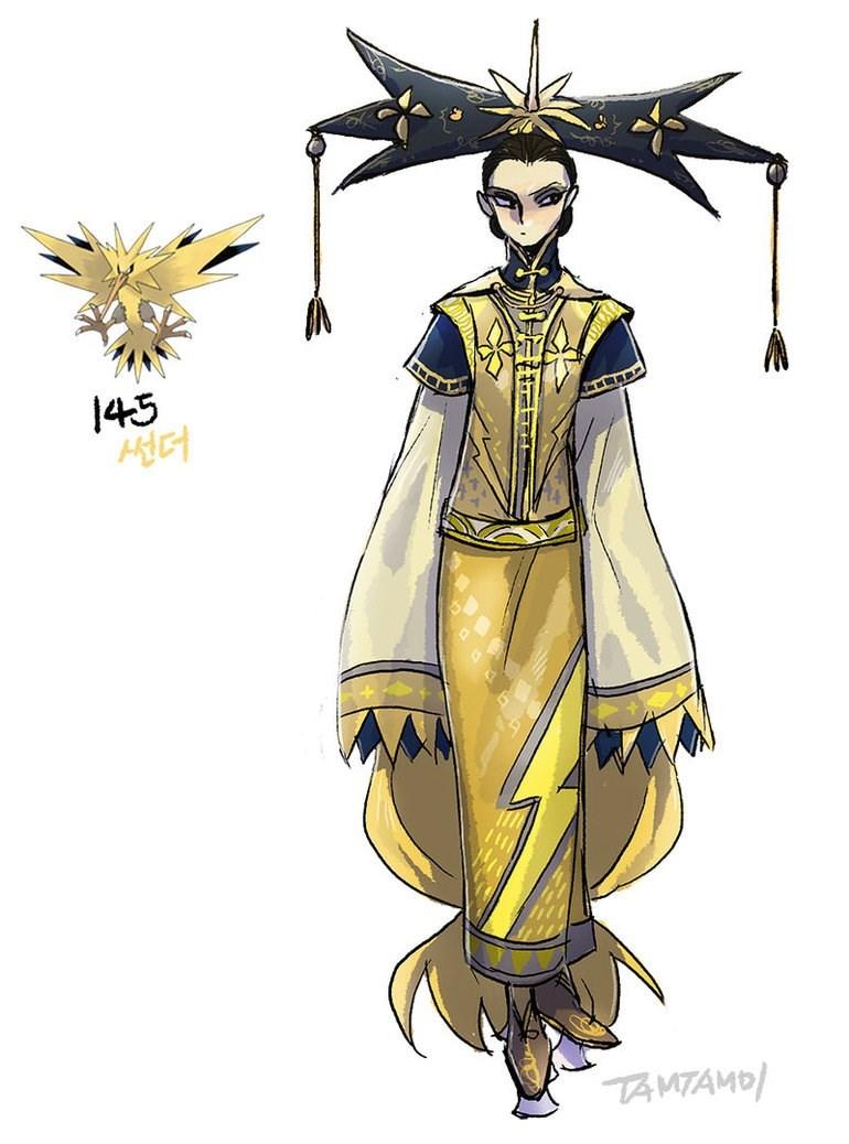Costume design - 145 썬더 TA MTAMO