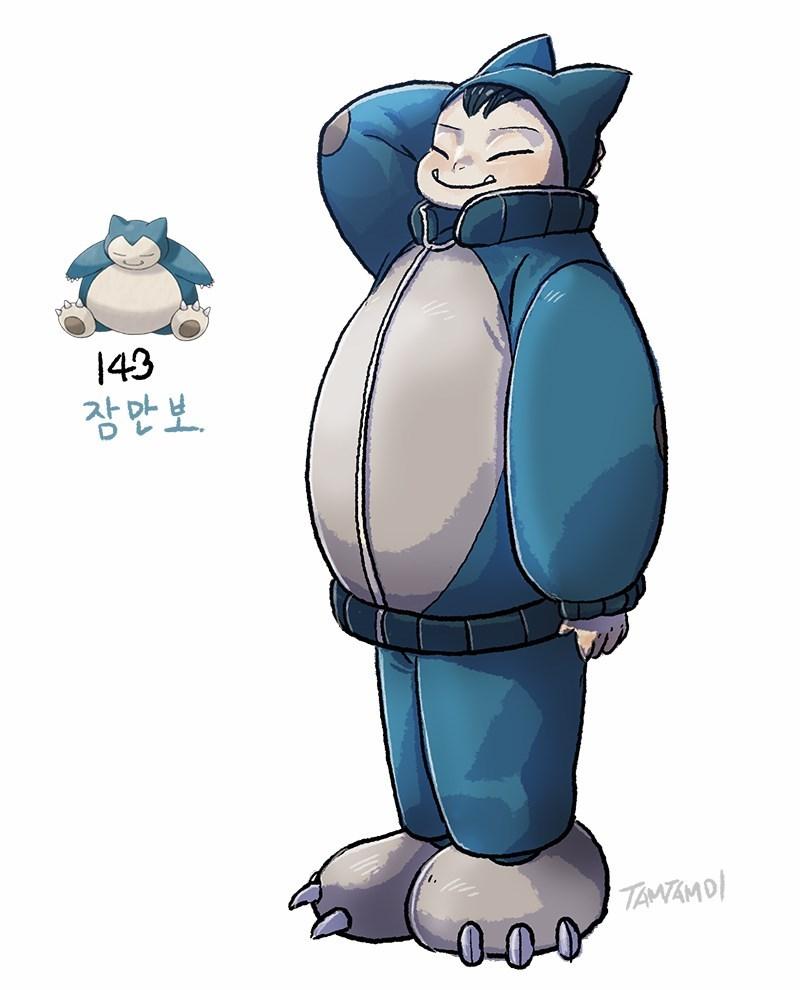 Cartoon - 43 잠만보 TANTAMD