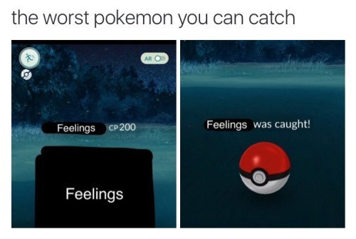 image feelings pokemon go Just Run Away!