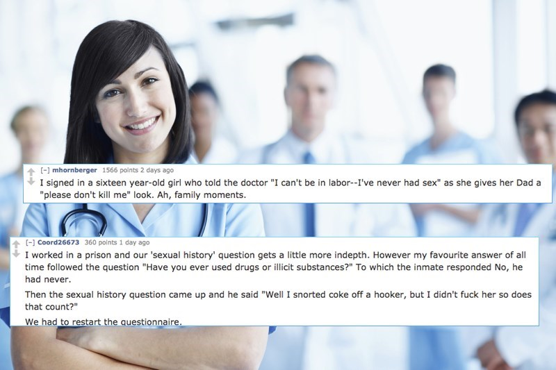 Nurses on Reddit Revealed Their Favorite Answers to the