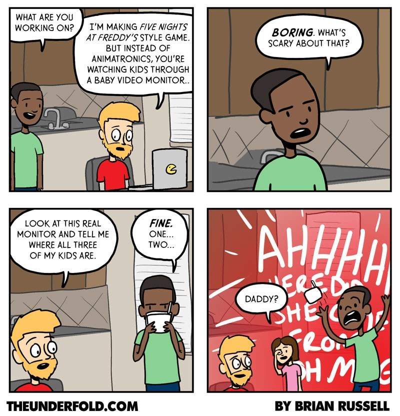 web comics parenting video games Kids Are Terrifying