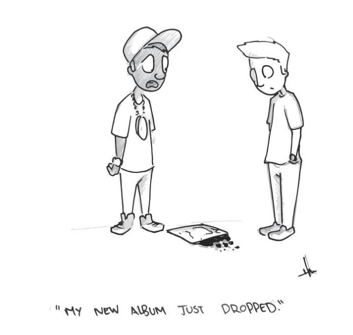 web comics puns album Hope You Made a Copy