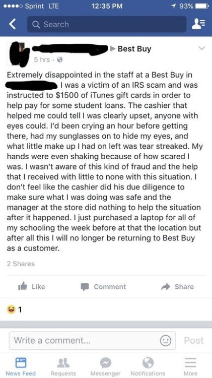 best buy failbook facebook - 8973488128