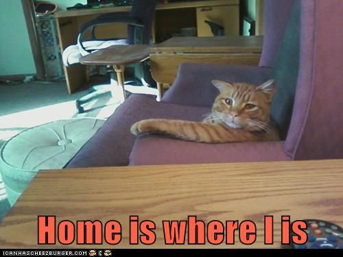 Home is where I is
