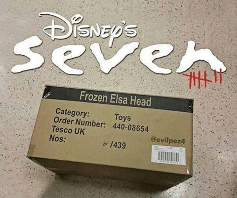 se7en box Movie frozen - 8973712384