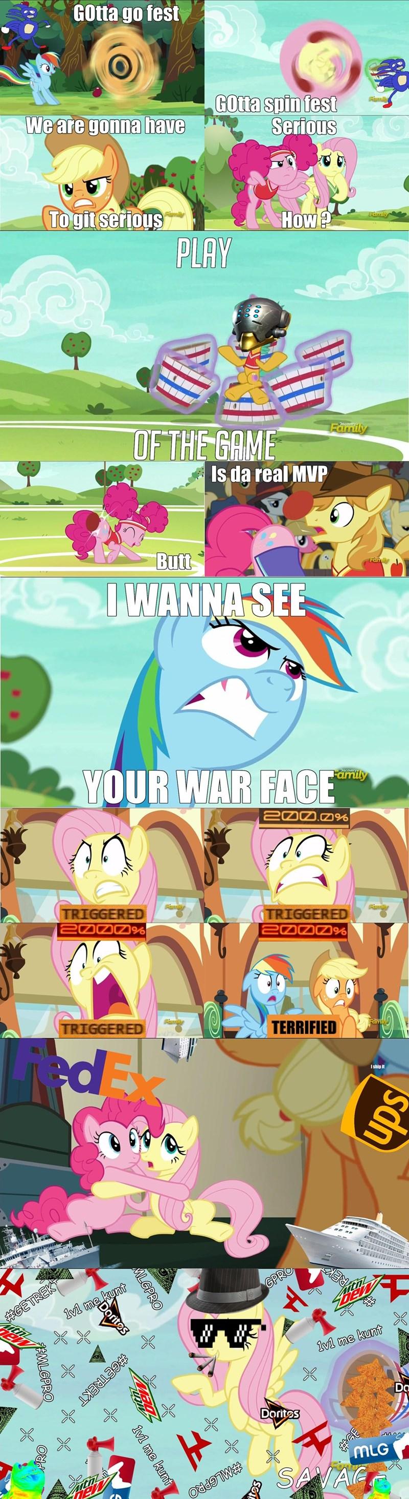 shipping applejack sanic braeburn pinkie pie dank memes Memes fluttershy rainbow dash MLG - 8973742848