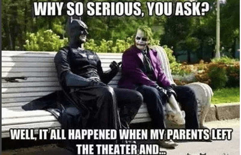 superheroes-joker-and-batman-talking