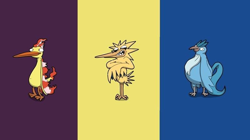 Pokémon articuno moltres zapdos - 8973861888