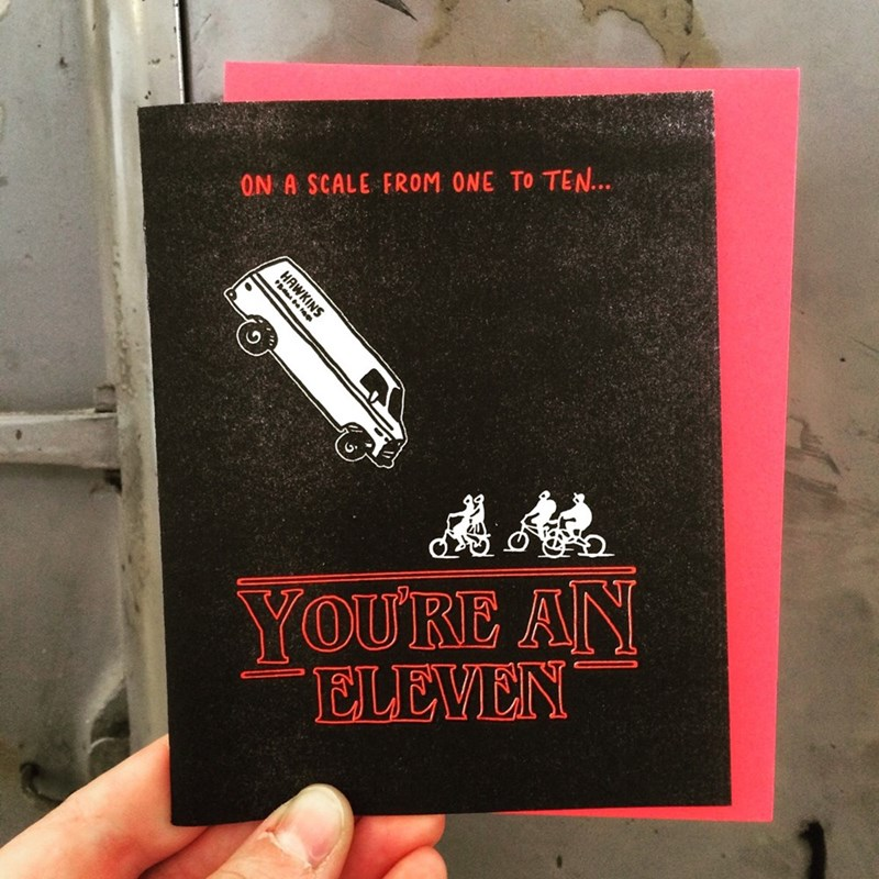 stranger things cards dating