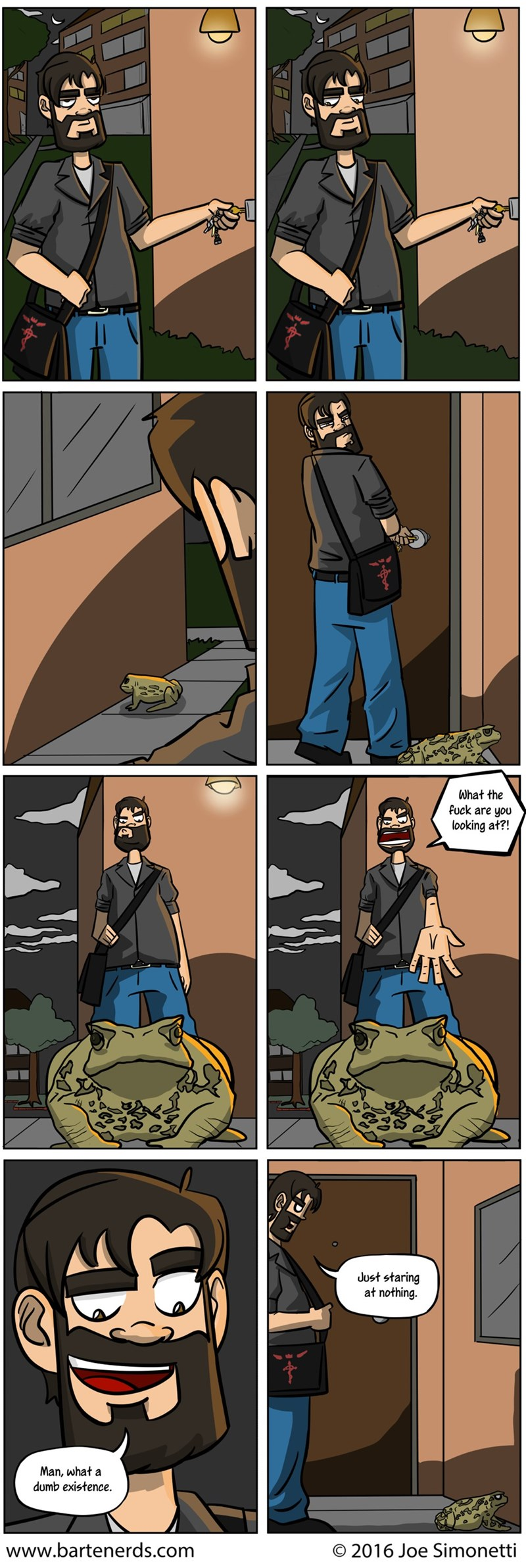 dumb frog web comics - 8974311936