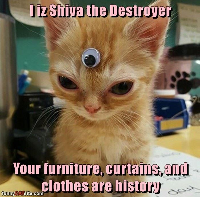 I iz Shiva the Destroyer