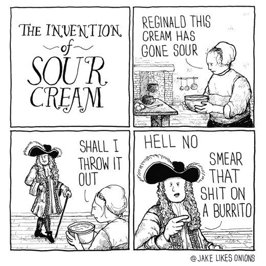 funny-web-comic-about-invention-of-sour-cream