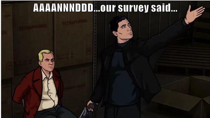 AAAANNNDDD...our survey said...