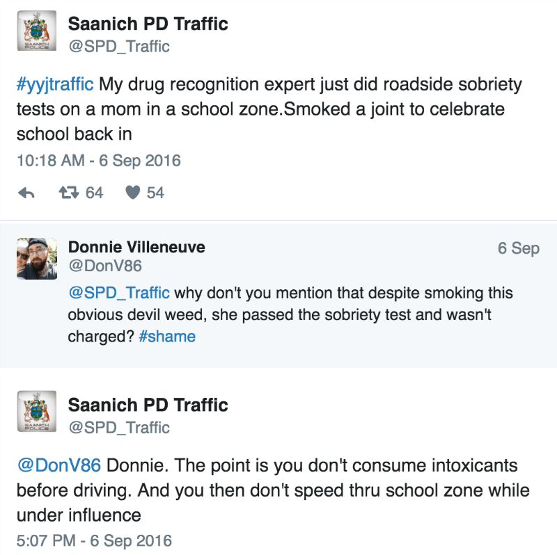 funny parenting tweet mom gets busted for smoking back to school blunt in car