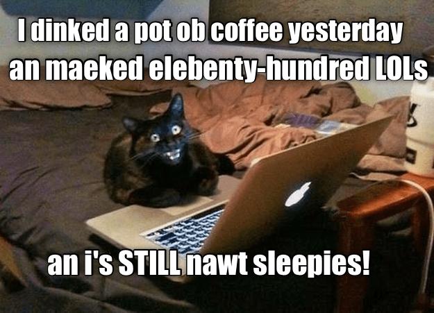 Coffee + LOLs=Addikshun!!
