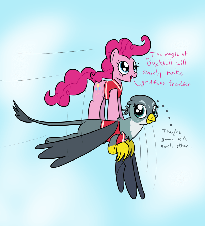 pinkie pie buckball season the fault in our cutie marks gabby - 8975098880