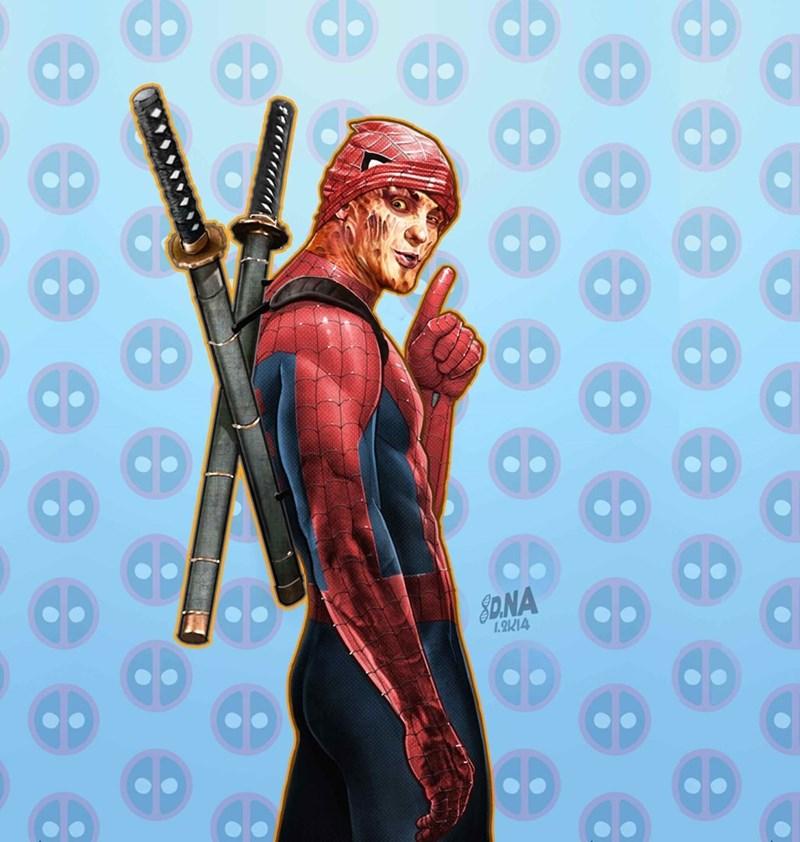marvel deadpool superheroes Spider-Man - 8975168256