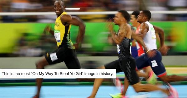 list usain bolt Memes olympics - 897541
