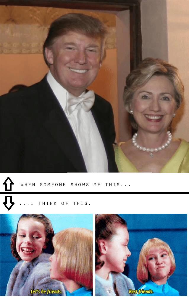 donald trump Hillary Clinton politics - 8975484928